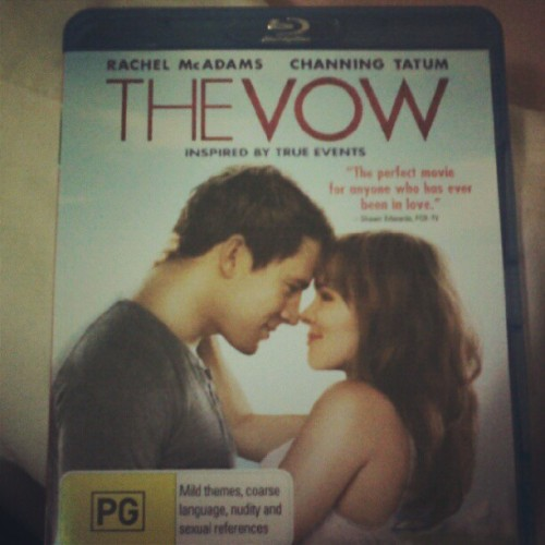 Got the Vow on blu-ray FINALLY!! (Taken with Instagram)