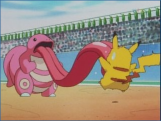 """""""Right.  Okay; that's it.  This was *not* in my contract.  Ash, if you ever make me fight one of these things, I swear I will murder you."""""""