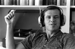 Vintage Headphone // Jack Nicholson