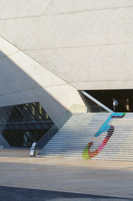 Casa da Musica on Flickr.Via Flickr: Another one from Porto, two years ago.