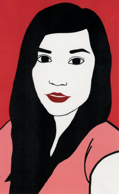 Vectorial portrait by Isabel Garcia Argos ► 1st year student