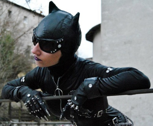 This is my first cosplay, a strange version of Catwoman ;) meow Submitted by catwomancosplay