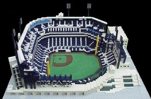 PNC PARK - Pittsburgh Pirates3,600 Lego BlocksVisit our Website to see more amazing models made entirely out of Lego blocks!www.burikmodeldesign.com