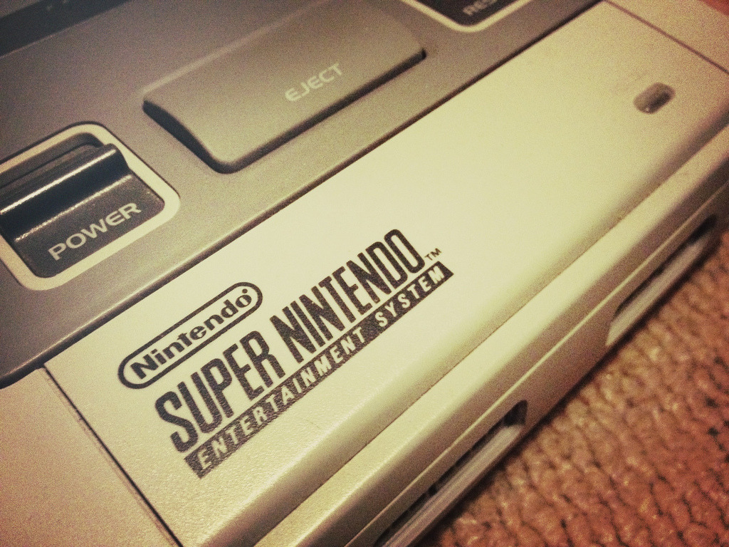 it8bit:  Super Nintendo (SNES) Image by Matthew King