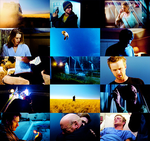 breaking bad + blue