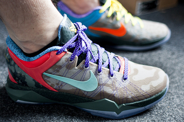 "Nike Zoom Kobe VII "" what the kobe"" on Flickr."