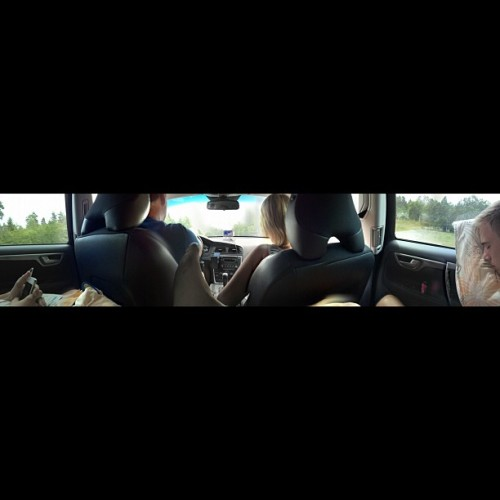 Tråk. #bored #panorama #sleepy #brother (Taken with Instagram)