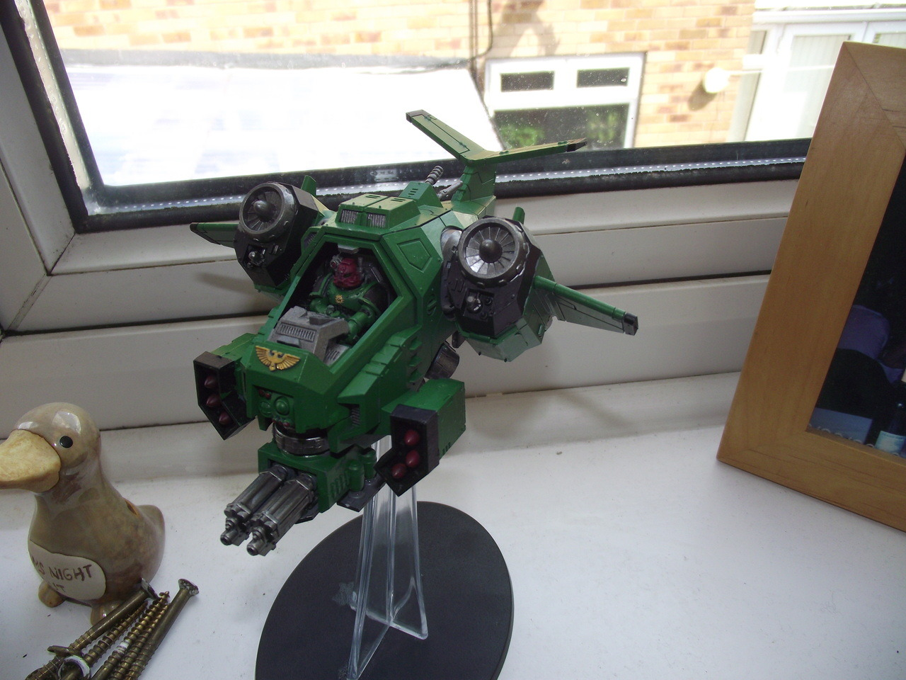 just finish painting my gunship :D