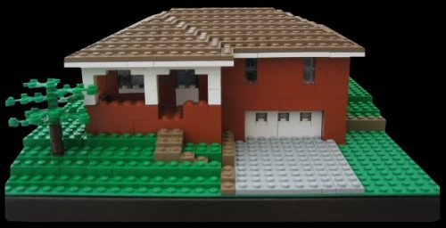 Get a custom Lego block replica of your home.View more residential home models on our site.www.burikmodeldesign.com