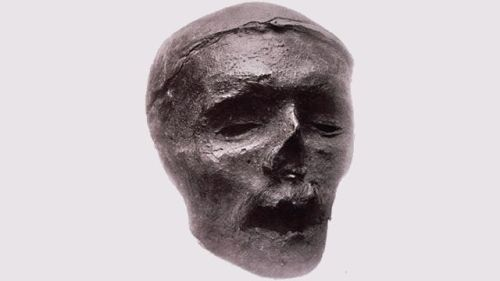 "theoddmentemporium:  Oliver Cromwell's head Oliver Cromwell was an English military and political leader who was part of the joint republican, military and parliamentarian effort that overthrew the Stuart monarchy as a result of the English Civil War, and was subsequently invited by his fellow leaders to assume a head of state role in 1653. Following [his] death on 3 September 1658, he was given a public funeral at Westminster Abbey, equal to those of monarchs before him. After the monarchy was reinstated, and Charles II, who had been living in exile, recalled, parliament ordered the disinterment of Cromwell's body from Westminster Abbey. After hanging ""from morning till four in the afternoon"", the [body was] cut down and the head placed on a 20-foot (6.1 m) spike above Westminster Hall. In 1685 a storm broke the pole upon which it stood, throwing the head to the ground, after which it was in the hands of private collectors and museum owners until 25 March 1960, when it was buried at Sidney Sussex College in Cambridge. The symbolic value of the head changed over time. While it was spiked on a pole above the London skyline, it gave a potent warning to spectators. In the 18th century, the head became a curiosity and a relic. The head has been admired, reviled and dismissed as a fake throughout the centuries. After Thomas Carlyle dismissed the head as ""fraudulent moonshine"", and after the emergence of a rival claimant to the true head of Oliver Cromwell, scientific and archaeological analysis was carried out to prove the identity. Inconclusive tests culminated in a detailed scientific study by Karl Pearson and Geoffrey Morant, which concluded, based on a study of the head and other evidence, that there was a ""moral certainty"" that the head belonged to Oliver Cromwell."