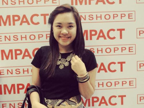 I at the Penshoppe Impact Show. :)  #guiltyfornotbloggingaboutthat
