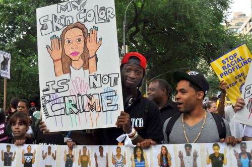 greenelent:  July 7, 2012:  End Stop and Frisk March, NYC
