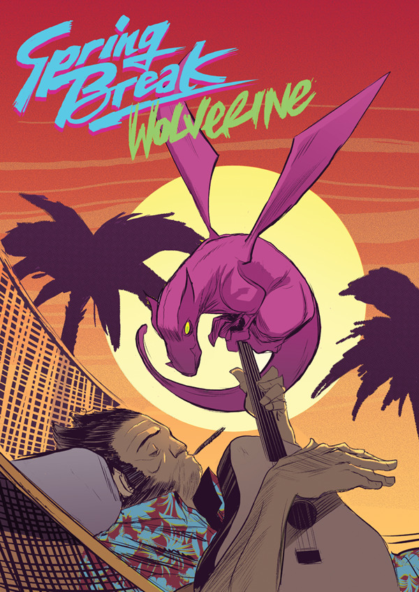 Spring Break Wolverine by Robbie Rodriguez and Jason Latour