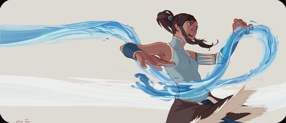 birdstump:  Korra, by Lee Tao