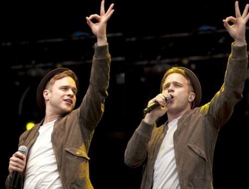 "ollyofficial:  T In The Park, 6th July 2012 -""I'm OK"""