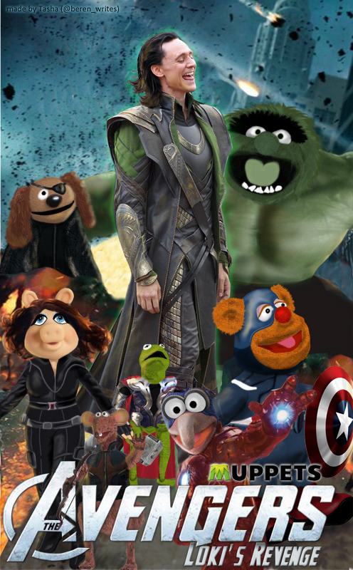 verifascinating:  jshillingford:  Avenger muppets.  Can this be a live action sketch on SNL pretty please? Ye God I wish SNL was relevant to my fandom interests once in a blue moon! Seriously, if fandom took over SNL, it would a whole lot funnier!