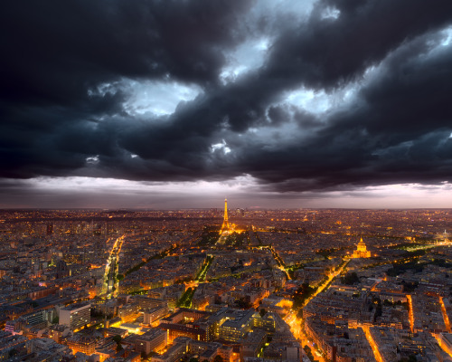 """Clouds over Paris"" by Magnus Larsson"