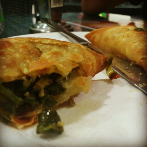 #sambosa #arabianfood  (Taken with Instagram)