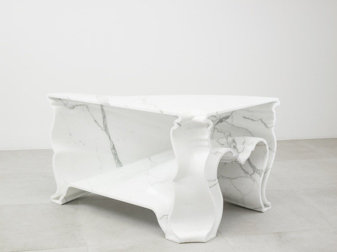 Cinderella Table Marble by Carpenters