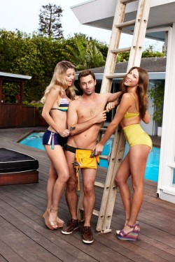 Porn star James Deen by Danielle Levitt for GQ July 2012