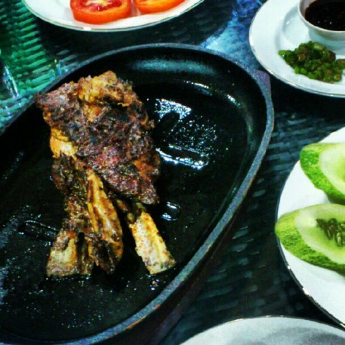 #kambingbakar #food #culinary  (Taken with Instagram at Sahara Arabian Resto,Gading Food City)