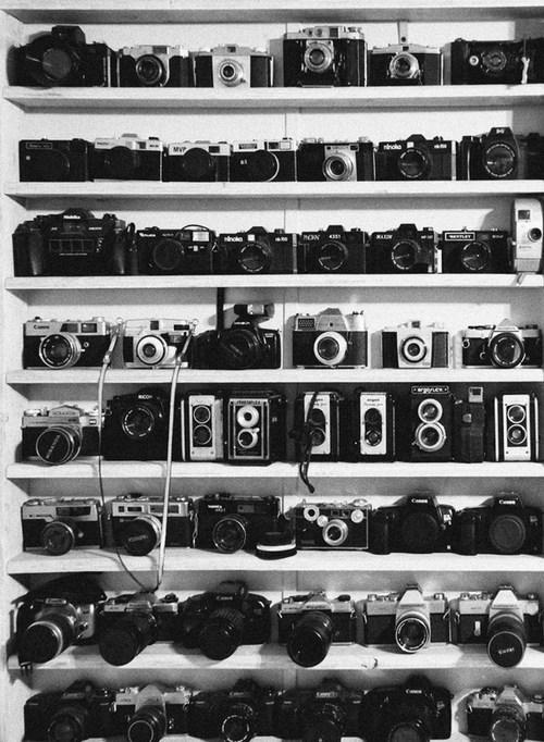Cool collection of cameras