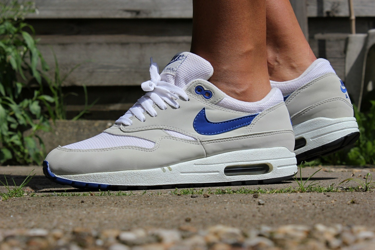sweetsoles:  Nike Air Max 1 Sport Royal (by Ro80)