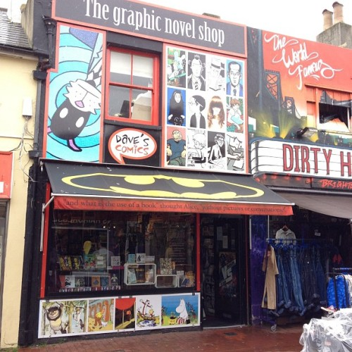 Just popped into Dave's Comics #brighton (Taken with Instagram)