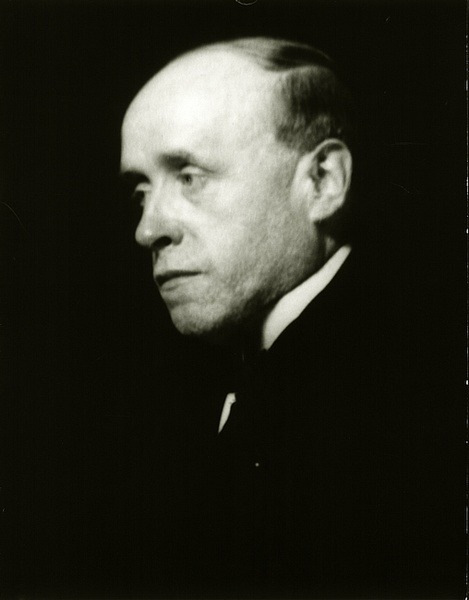 A photograph of Georges Rouault by Man Ray.