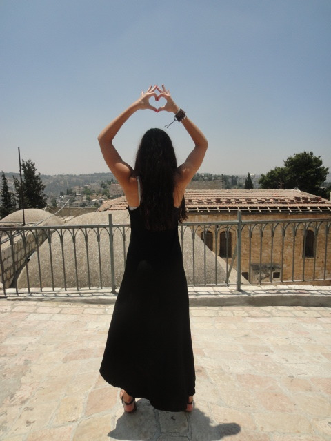 Throwing what I know in Jerusalem <3