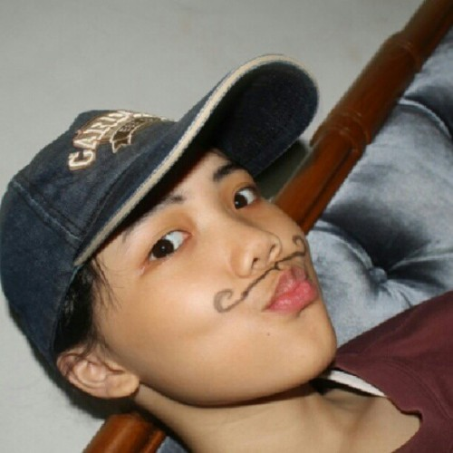 #me #boyish #handsome #beauty #hat #cardinal #NoEffect #mustache #cool  (Taken with Instagram)