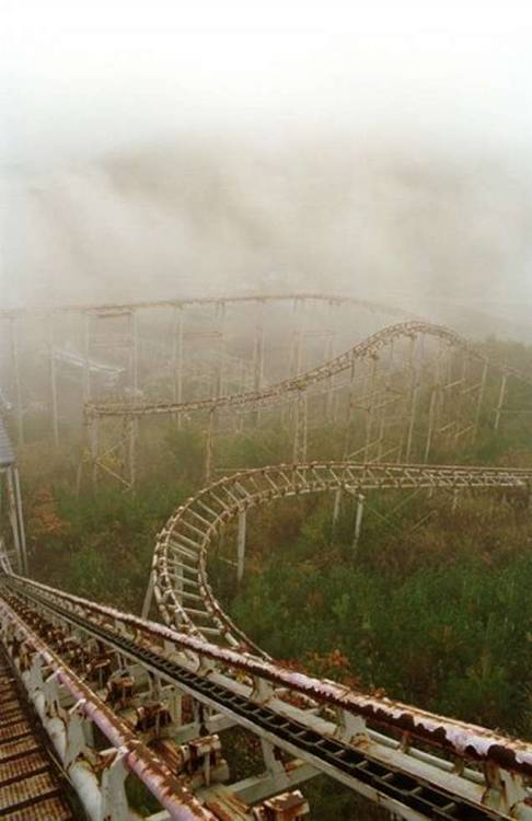 ramirezdahmerbundy:  An Abandoned Rollercoaster.    YES. #insightfulcommentary