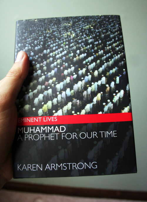 communitylibrary:  Muhammad: A Prophet for Our Time (Karen Armstrong) The Prophet Muhammad was born in 570 CE, and over the following sixty years built a thriving spiritual community, laying the foundations of a religion that changed the course of world history. There is more historical data on his life than on that of the founder of any other major faith, and yet his story is little known. Karen Armstrong's immaculately researched new biography of Muhammad will enable readers to understand the true origins and spirituality of a faith that is all too often misrepresented as cruel, intolerant, and inherently violent. An acclaimed authority on religious and spiritual issues, Armstrong offers a balanced, in-depth portrait, revealing the man at the heart of Islam by dismantling centuries of misconceptions. Armstrong demonstrates that Muhammad's life—a pivot point in history—has genuine relevance to the global crises we face today.