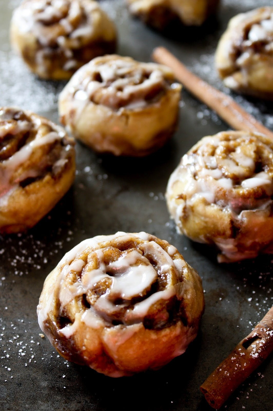 no yeast mini cinnamon buns