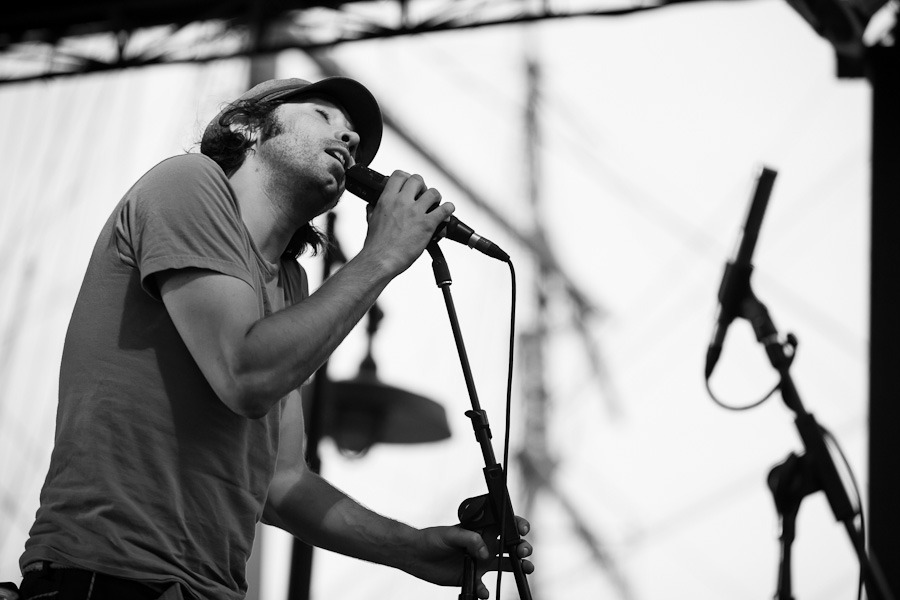 Sneak peek photo: Patrick Watson at the South Street Seaport during the River to River Festival at Pier 17, July 6, 2012. On assignment for BrooklynVegan. Full set of photos are here. Somehow I managed to not include the above photo when I filed my images, so, consider this a Tumblr exclusive. © Dominick Mastrangelo