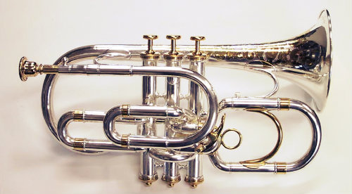 1880 C.G. Conn SOLO Model Bb/A Cornet