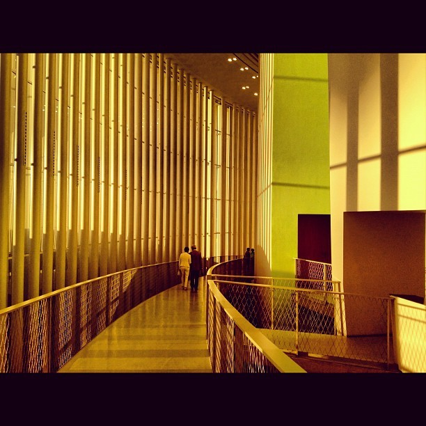 Golden path  (Taken with Instagram at Philarmonie)