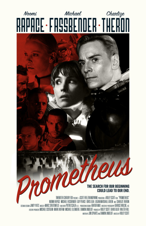 fuckyeahmovieposters:  Prometheus by William Henry