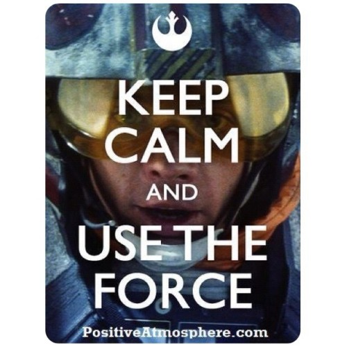 Use the force Luke!  #starwars #sw #swgeek #returnofthejedi #geek #geekology #geekologie #sith #jedi #thinkgeek #theforce #anewhope #empirestrikesback #swnerd  (Taken with Instagram)