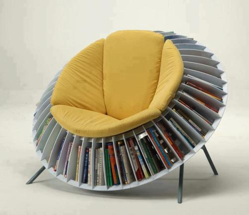 lickystickypickywe:  Pretty clever:The Sunflower Chair by He Mu and Zhang Qian   For ohhelloholly.
