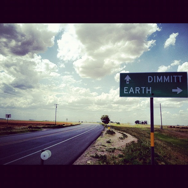 I am not the same, I am a Martian #earth #texas #roadtrip #weezy (Taken with Instagram)