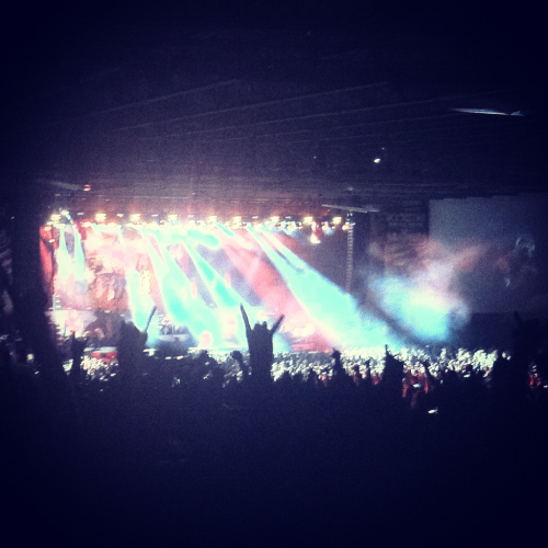 SLIPKNOT @MAYHEM FESTIVAL 2012