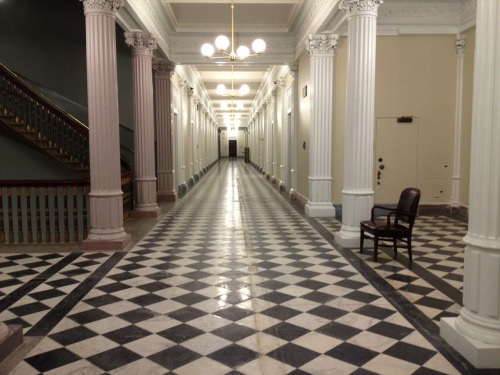 Hallway, Eisenhower Executive Office Building