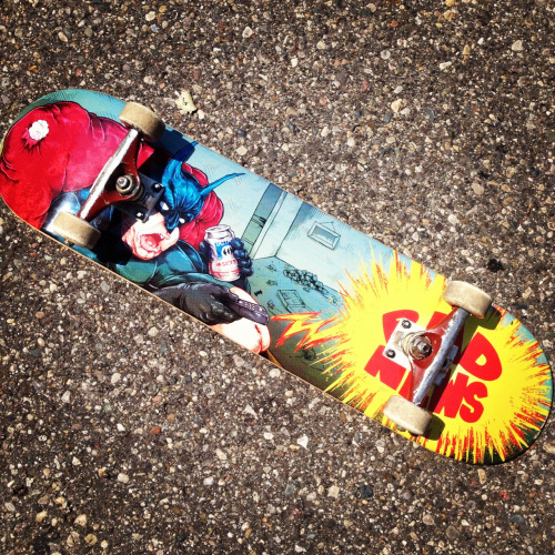 New deck. I'm psyched.