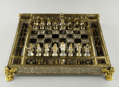 So-called chessboard of saint Louis 15th and 17th centuries Musée du Louvre, Paris