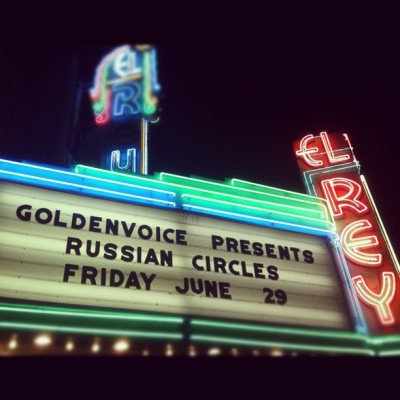 The Mighty Russian Circles! (Taken with Instagram)