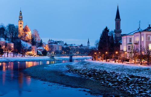 allthingseurope:  Austria - Salzburg: Old Town (by John & Tina Reid)