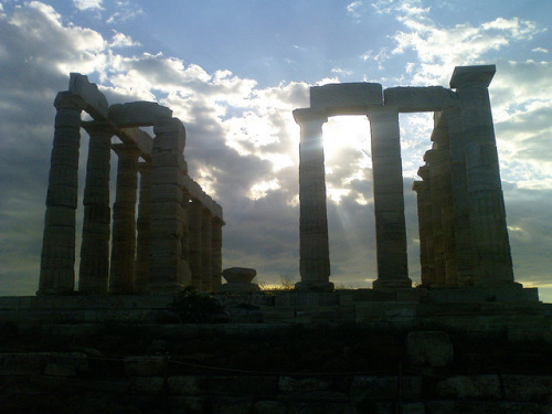 Temple of Poseidon, Sounio, Greece by Boreio Selas on Flickr.