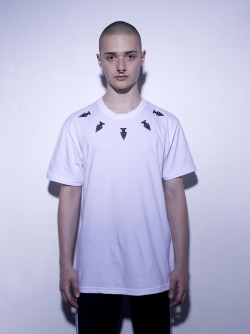 ASSK tshirt COLLIER in white