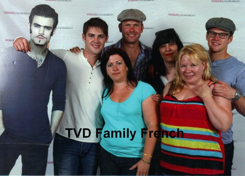 helenpony:  TVD CAST with Paul's ………..  in France 2012